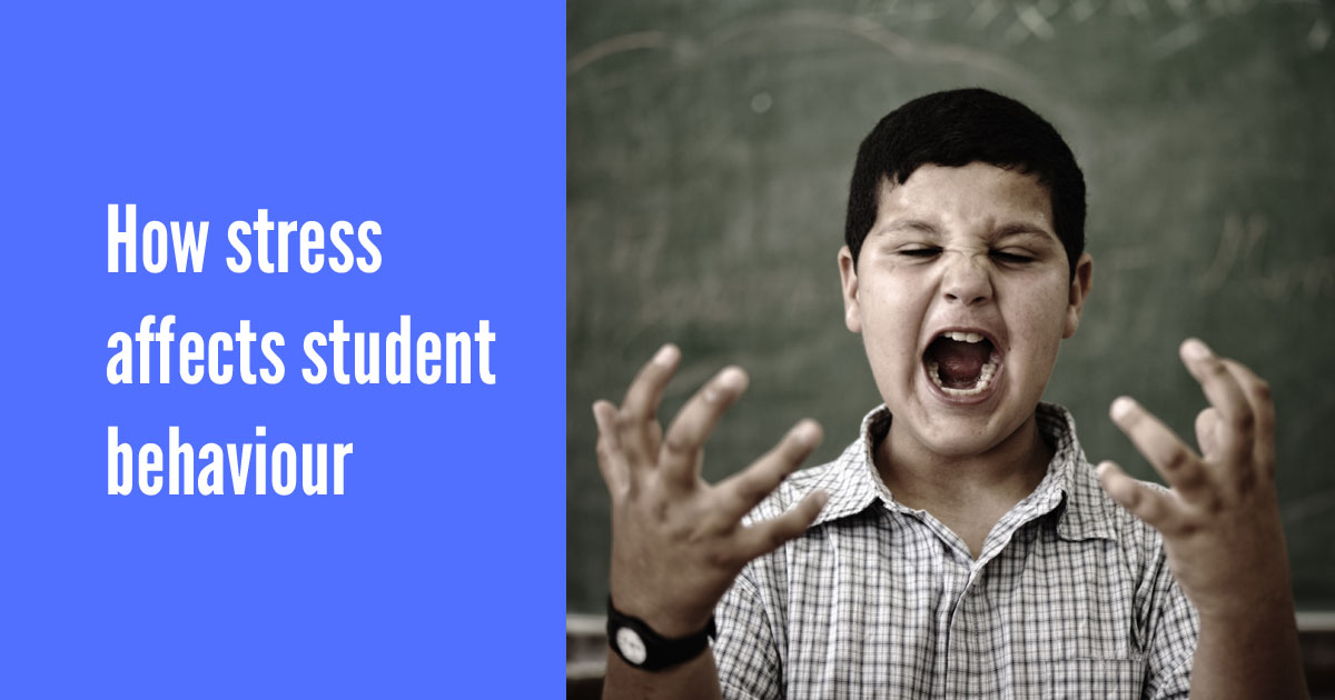 How stress affects student behaviour [infographic]