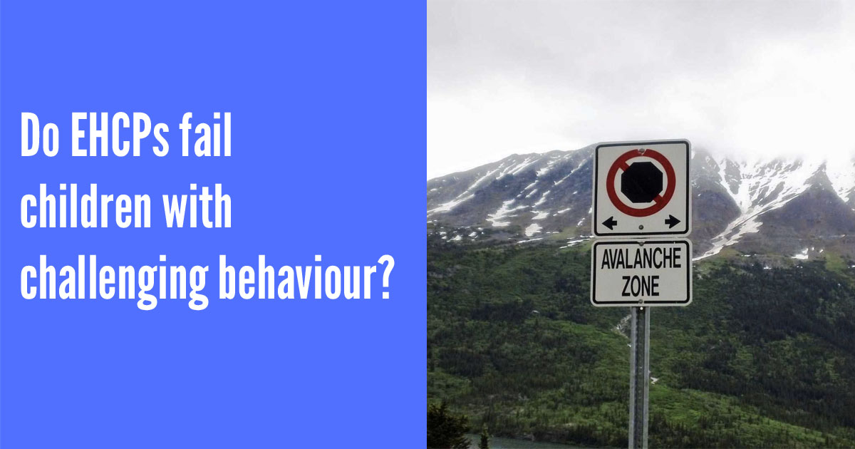 Do EHCPs fail children with challenging behaviour?
