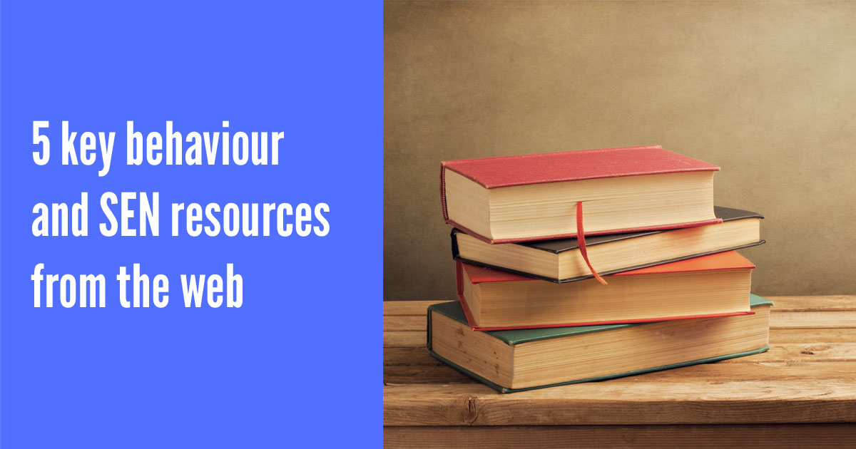 Five key SEN resources from the web