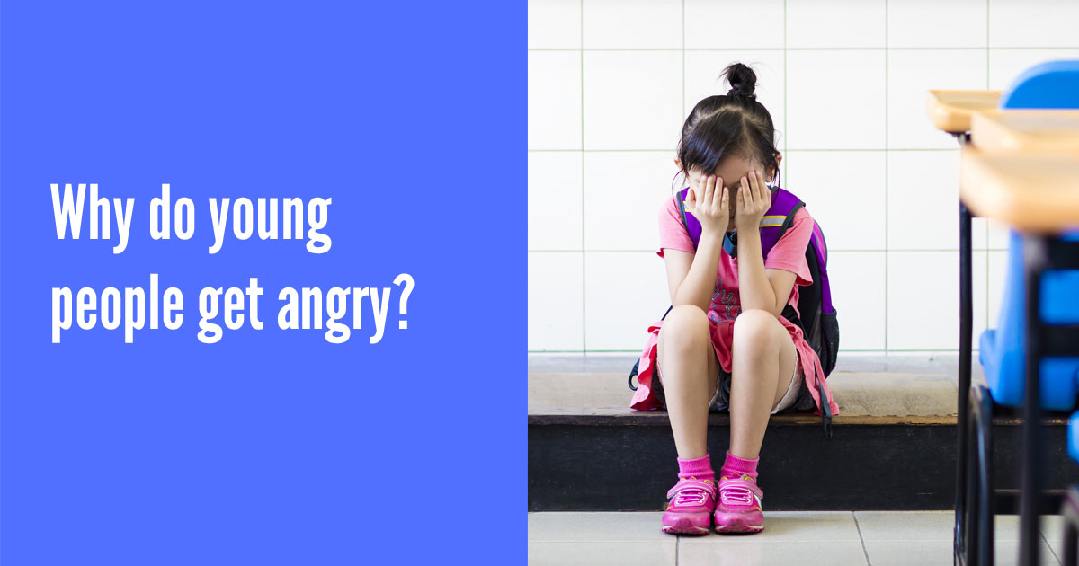 Why do young people get angry?
