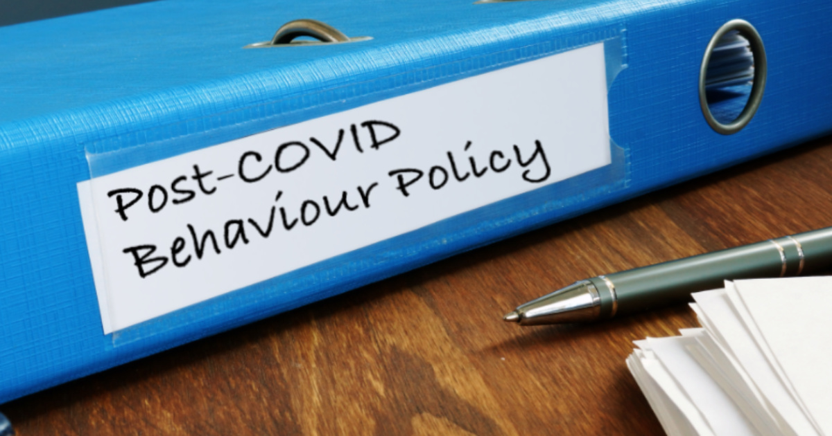 Save Time: How To Make Your Behaviour Policy Work For COVID-19
