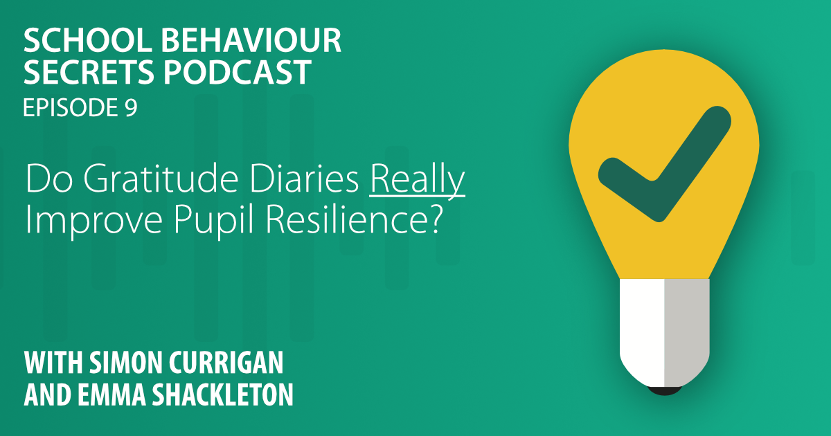 Do Gratitude Diaries *Really* Improve Pupil Resilience?