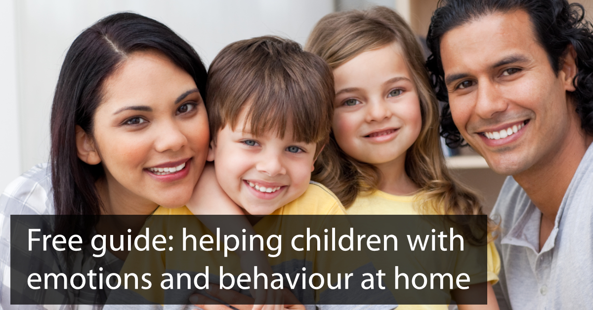 Parents Guide to Supporting Children With Emotions And Behaviour
