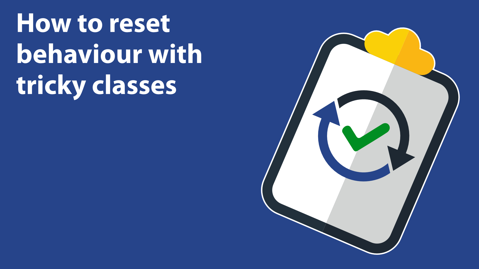 How to reset behaviour with tricky classes image