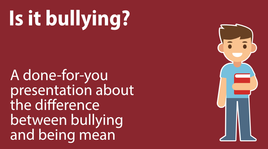 Is it bullying? image